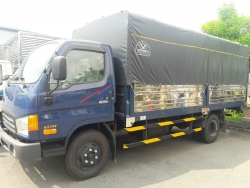 Đánh giá xe tải Hyundai HD99 thùng mui bạt