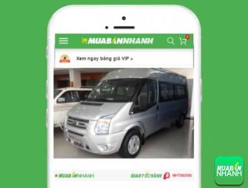 Giá xe Ford Transit Luxury, 85, Minh Thiện, GiaoHangGiaoTien.com, 10/10/2017 14:27:47