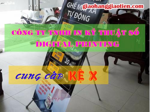 Giá chữ X, khung chữ X loại thường giá rẻ tại Bình Thạnh, 14, Minh Tâm, GiaoHangGiaoTien.com, 26/05/2015 16:35:19