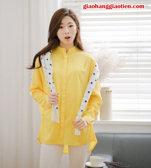 Người đẹp công sở với áo sơ mi nữ đơn giản, 32, Minh Thiện, GiaoHangGiaoTien.com, 28/12/2015 16:56:20