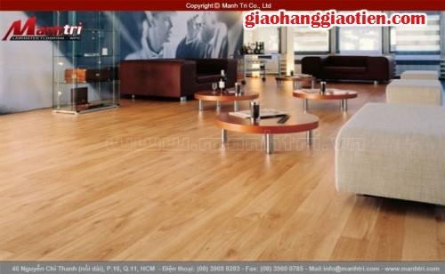 Sàn gỗ công nghiệp hãng nào tốt - Công ty Sàn gỗ Mạnh Trí, 33, Trúc Phương, GiaoHangGiaoTien.com, 30/12/2015 17:28:30